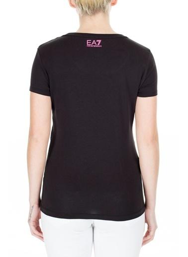 EA7 Emporio Armani  T Shirt Kadın T Shırt 3Htt21 Tj12Z 1200 Siyah
